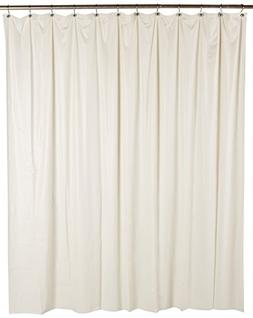 Ex-Cell Soft Sensation Shower Curtain Liner, Ivory