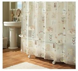 """Excell """"Natures Moments"""" Floral Shower Curtain"""