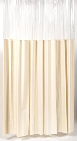 Royal Bath Extra Long 10 Gauge Window Vinyl Shower Curtain L
