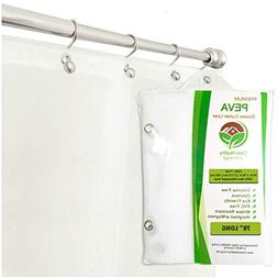 Clean Healthy Living Heavy Duty Extra Long PEVA Shower Liner