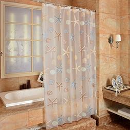extra long pvc bathroom liner