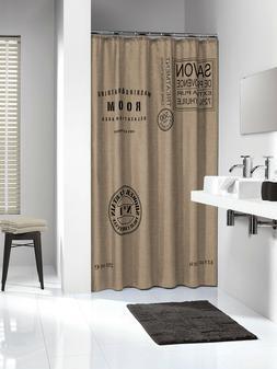 Extra Long Shower Curtain 72 x 78 Inch Sealskin Savon De Pro
