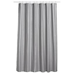 Extra Long Shower Curtain 72 x 78 Inch Gamma Dove Gray Fabri