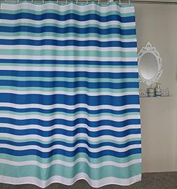 Welwo Extra Long Shower Curtain, Mildew,Mold Resistant Fabri