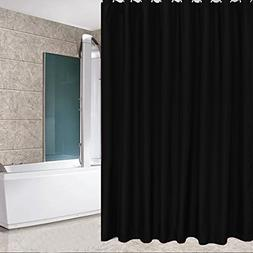 Eforcurtain Small Size 36 By 72 Inch Solid Fabric Shower Cur