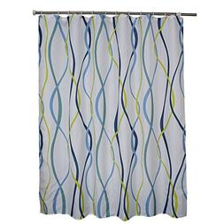 "Ufaitheart Fabric Shower Curtain 96"" x 72"" Extra Wide Shower"