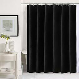 HOMESPON Extra Thicken Premium Quality Shower Curtain Black