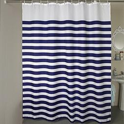 96-inches Extra Wide Shower Curtain, Welwo Fabric Water-Repe