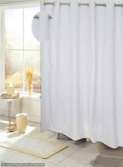 EZ On PEVA Shower Curtain, White