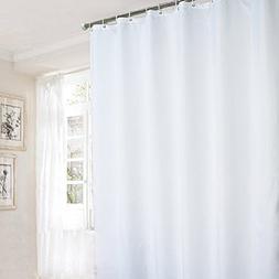 Ufaitheart Fabric Bathroom Curtain Extra Long Bath Curtain 7
