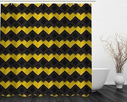 Beddinginn Fabric Decor Cool Shower Curtain Collection Yello