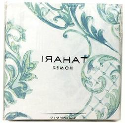Tahari Home Fabric Shower Curtain Chinoisserie Damask Paisle