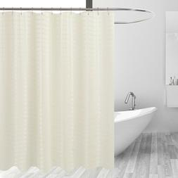 Barossa Design Fabric Shower Curtain Cream - Hotel Grade, Wa