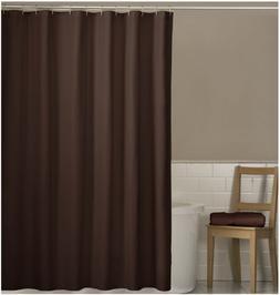 Maytex Fabric Shower Curtain Liner, Chocolate