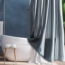 Fabric Shower Curtain liner Mildew Resistant Microfiber With