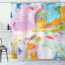 Fabric Shower Curtain Surreal Abstract Art Print for Bathroo