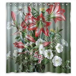Eyeselect Famous Classic Art Painting Flowers Blossoms Bath