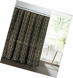 Creative Home Ideas Faux Linen Textured 13-Piece Shower Curt