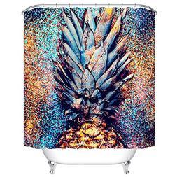 Ormis Flickering Pineapple Pattern Mildew Resistant Polyeste