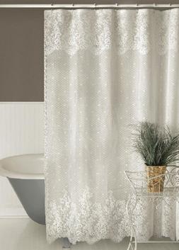 Heritage Lace FLORET Shower Curtain - 2 Colors - Select Ecru