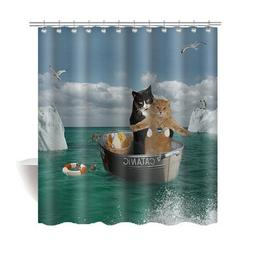 funny cat bathroom home decor