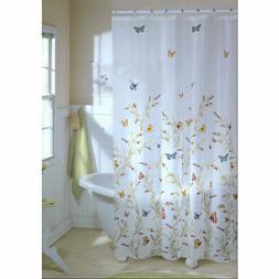 Maytex Garden Flight PEVA Shower Curtain - Butterfly Shower