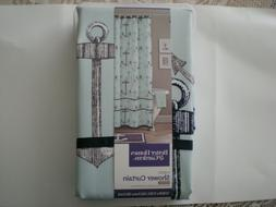 Better Homes & Gardens Nautical Shower Curtain Fabric Size 7