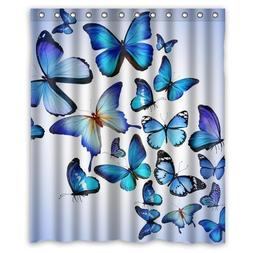 Personalized Beautiful And Authentical Blue Butterflies Art