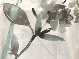 Cynthia Rowley Giacomo Cotton Fabric Shower Curtain Floral B