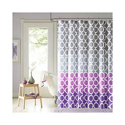 90 Degrees by Design Lab Gigi Printed Shower Curtain and Hoo