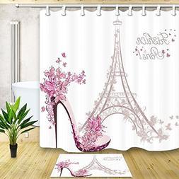 KOTOM Fashion Girl Decor, Paris Eiffel Tower with High Heels
