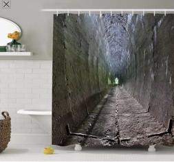 Ambesonne Gothic Dungeon Tunnel Shower Curtain