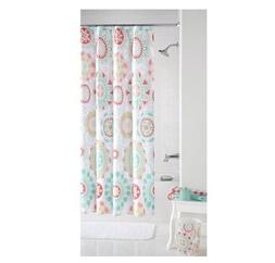 Mainstays Groovy Medallion Fabric Shower Curtain