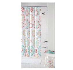 Mainstays Groovy Medallion Fabric Shower Curtain