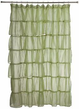 LORRAINE HOME FASHIONS Gypsy Shower Curtain, 70-Inch by 72-I
