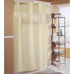 Hookless Fabric Shower Curtain - Major Beige - 71x74 …