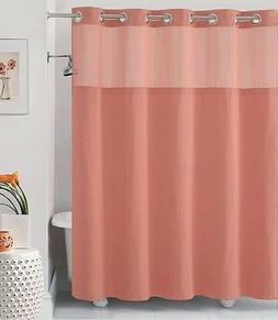 Hookless Hangis in Seconds Waffle Fabric Shower Curtain