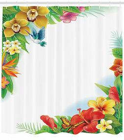 Hawaiian Tropical Flowers Floral Decor Wildlife Hummingbirds