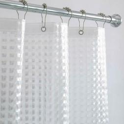 Aimjerry Heavy Duty Clear Shower Curtain Liner Set for Bathr