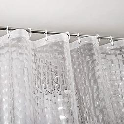 Heavy Duty EVA Shower Curtain Liner with Magnets Waterproof