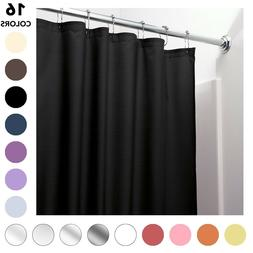 HEAVY DUTY MILDEW FREE VINYL WATERPROOF SHOWER CURTAIN LINER