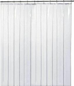Heavy Duty PEVA Shower Curtain Liner 72x72 Clear - 10G Thick