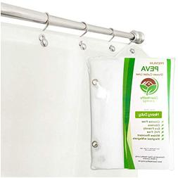 Heavy Duty PEVA Shower Liner Curtain: Odorless Anti Mold . I