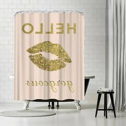 Americanflat 'Hello Gorgeous' Shower Curtain