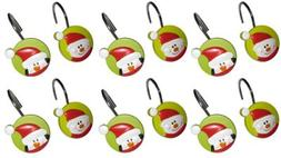 Holiday Friends Snowman and Penguin Christmas Set of 12 Show