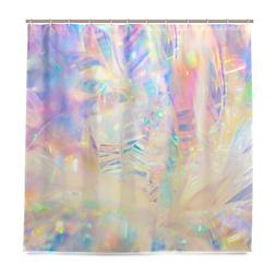 Top Carpenter Holographic Iridescent Metallic Bath Shower Cu