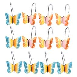 AGPTEK 12PCS Home Fashions Butterfly Anti Rust Decorative Re