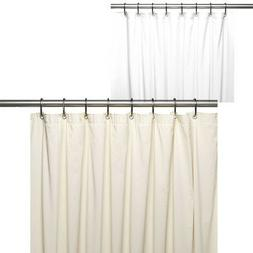 Carnation Home Fashions Waterproof 10 Gauge Vinyl Shower Cur