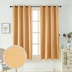 Taisier Home Three Pass Microfiber Room Darkening Curtains B