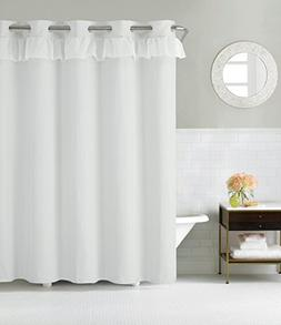 Hookless RBH29FC109 Waterfall Shower Curtain with Peva Liner